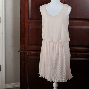 Anthropologie chiffon dress size large